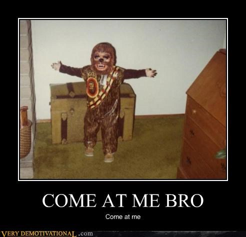 come at me costume wookie wtf - 4425909504