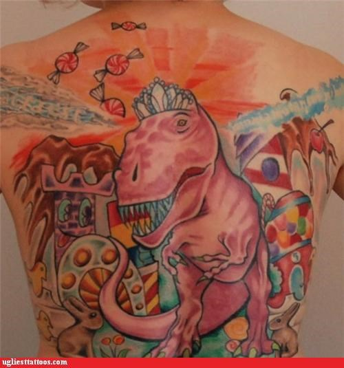 back pieces dinosaurs food mysterious