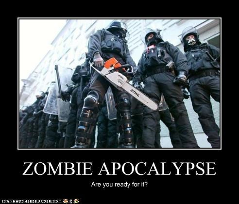 ZOMBIE APOCALYPSE Are you ready for it?