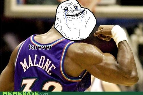 forever alone karl malone meme - 4426763776