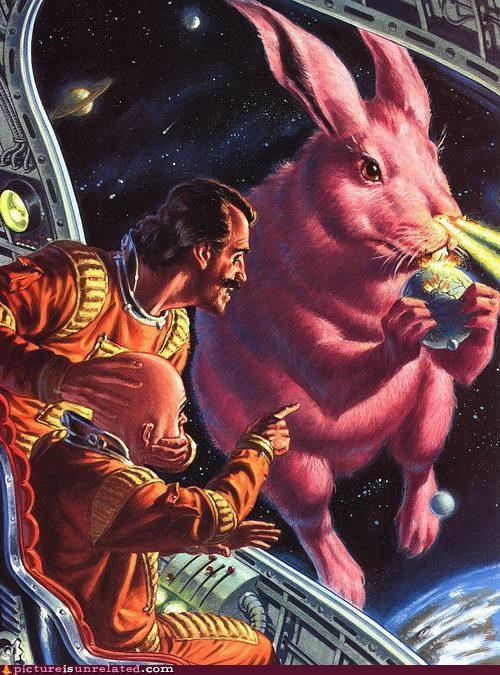 awesome Easter Bunny sci fi wtf - 4426814464
