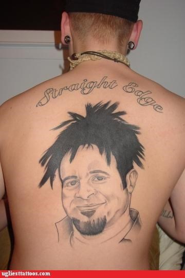 wtf straight edge tattoos funny g rated Ugliest Tattoos - 4426836480
