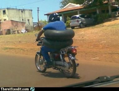 airbags,dual use,motorcycle,safety first,wtf