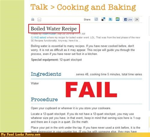 boil not a recipe simple water - 4427202560