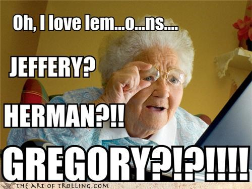 gregory invitation lemonparty trolling grandma