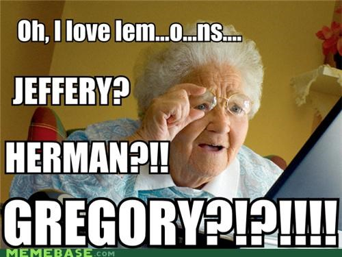 grandma lemon lemonparty Memes - 4427375872