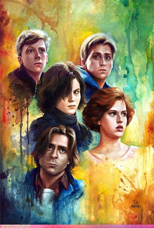 art cool Hall of Fame john hughes Movie the breakfast club - 4427388160