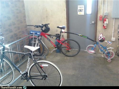 bicycle,dual use,parenting,towing