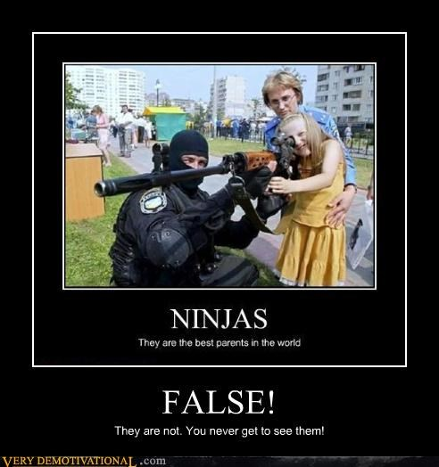 false,ninjas,parents