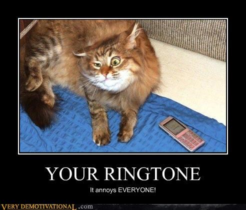 YOUR RINGTONE It annoys EVERYONE!
