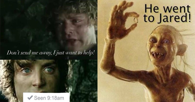 Funny Lord of the Rings memes in celebration of JRR Tolkien's birthday.