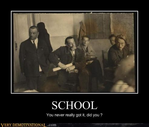 school,suits,oh yeah,idiots