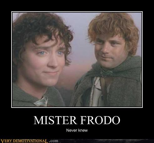 samwise Lord of the Rings mister frodo - 4429049344