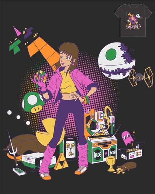 80s,merch,threadless,T.Shirt,t-shirt mash up