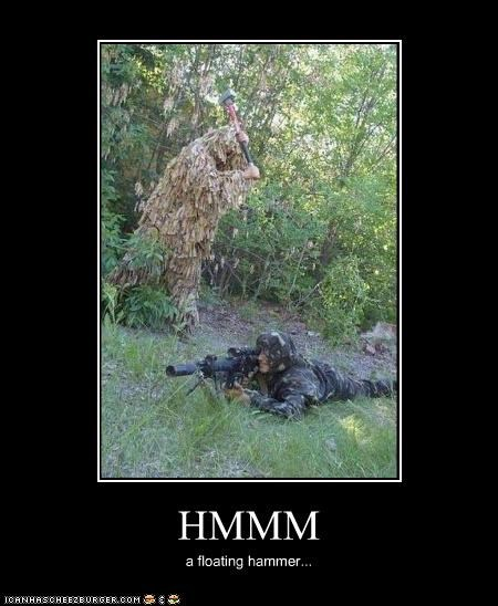 camouflage,guns,hammer,military,silly,soldiers