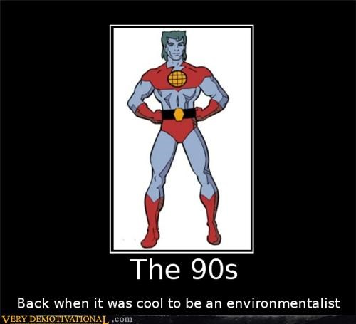 the 90s captain planet environmentallist - 4430418176