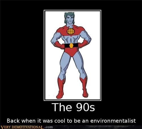 the 90s captain planet environmentallist - 4430418176