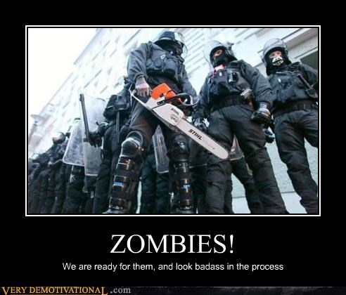 zombie,chainsaw,record