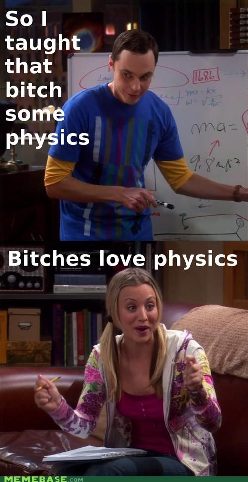 big bang theory Memes physics TV - 4430818048