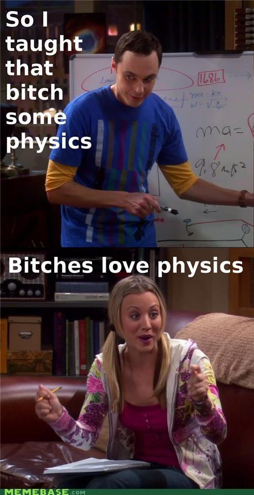 big bang theory Memes physics TV - 4430818048