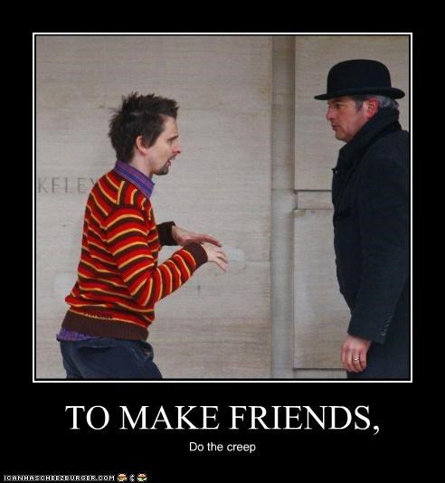 demotivational,funny,matthew bellamy,meme,Music,SNL