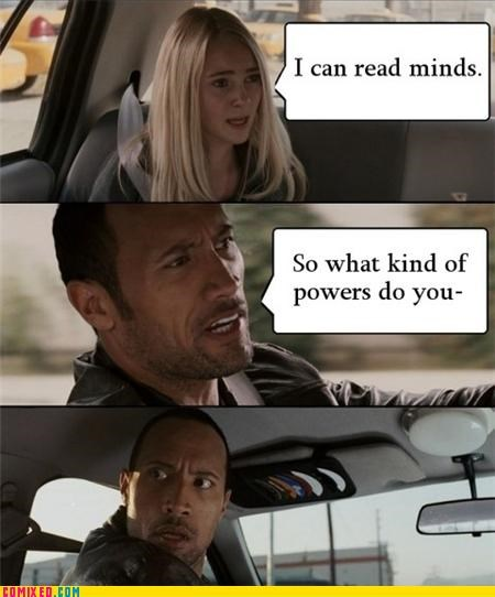 Dwayne Johnson,mind reading,powers,race to witch mountain,the internets,the rock