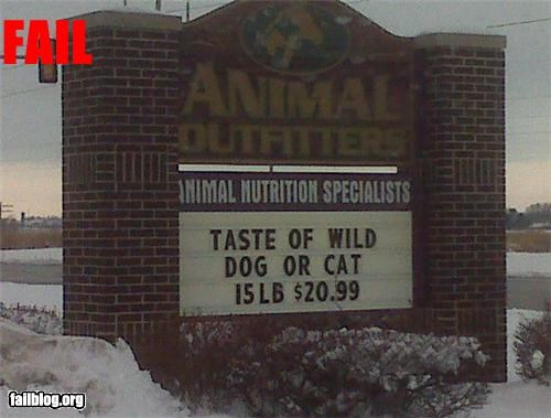 animals,cat,dogs,failboat,FAILS,ice cream,innuendo,sign,signs,wild