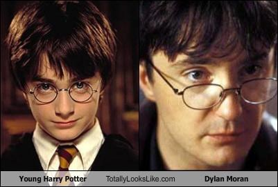 British Daniel Radcliffe dylan moran glasses Harry Potter