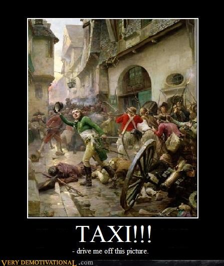 Battle Movie taxi painting - 4432829696
