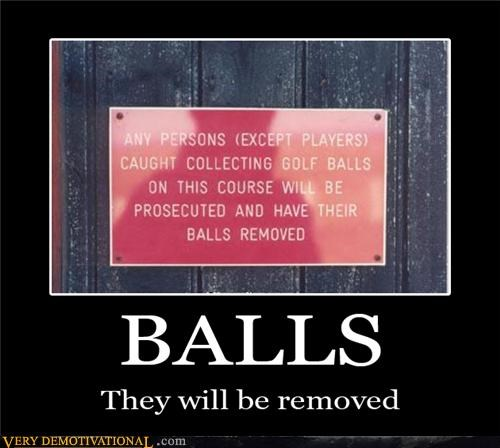 balls,sign,removed