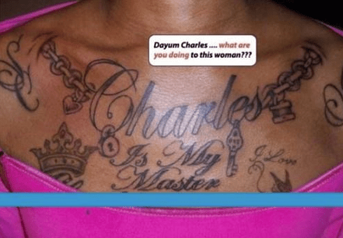 slavery wtf tattoos charles funny - 4433795584