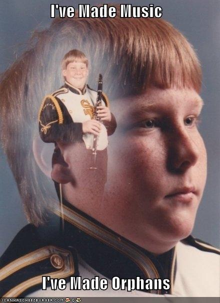 Music orphans PTSD Clarinet Kid - 4434216192
