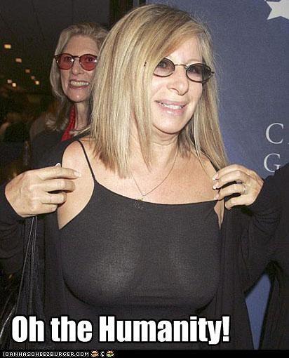 Barbara Streisand celeb funny Music wtf - 4435303424