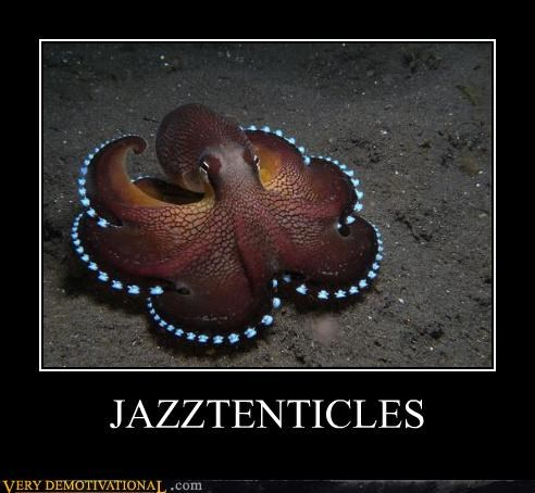 jazz hands,octopus,tentacles