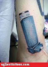 tattoos inhalers funny g rated Ugliest Tattoos - 4436348928