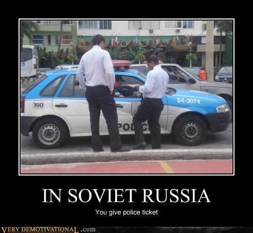 police reverse Soviet Russia ticket - 4436859904