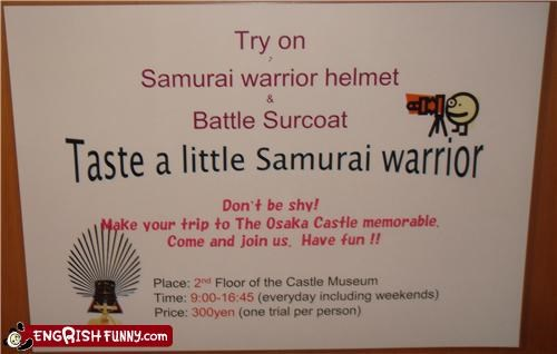 lick,picture,samurai,warrior