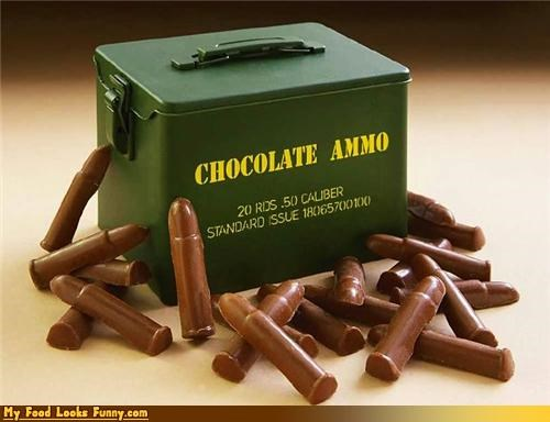 ammo,bullets,chocolate