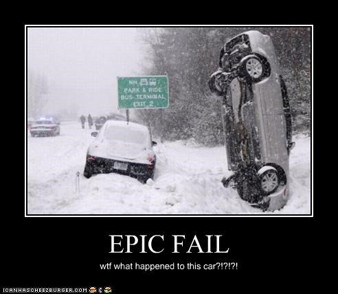 EPIC FAIL wtf what happened to this car?!?!?!