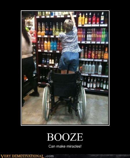 booze liquor store miracles wheelchair - 4437607680