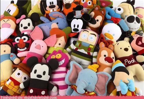 characters disney dolls Plush pookalooz