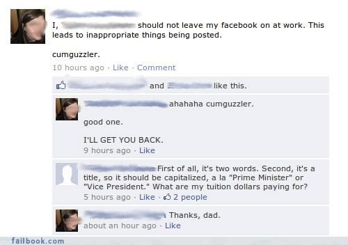 frape,oh snap,parents