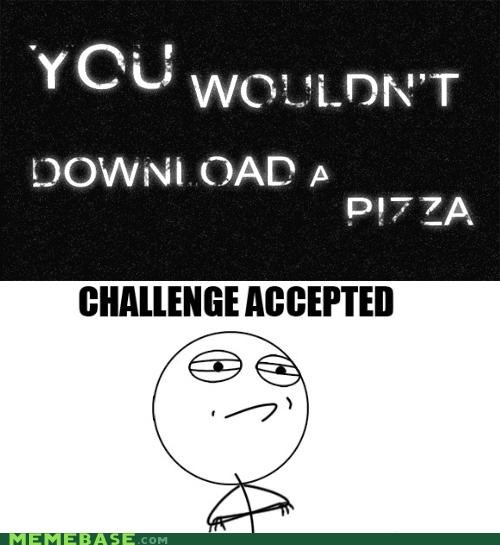 Challenge Accepted download orly pizza - 4438492416