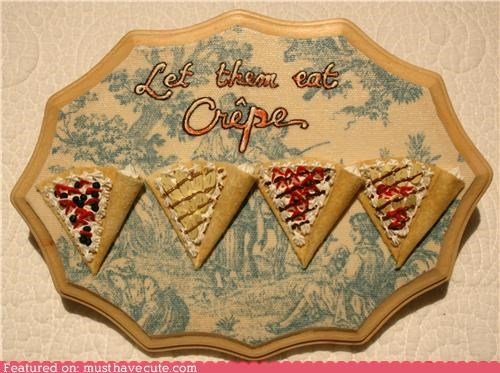 crepes decor fake miniature toile wall hanging wood - 4439014144