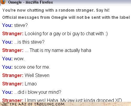 good idea name Omegle steve wtf - 4439286272