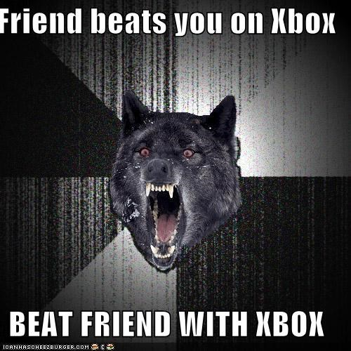 beatings friend Insanity Wolf xbox - 4439292160