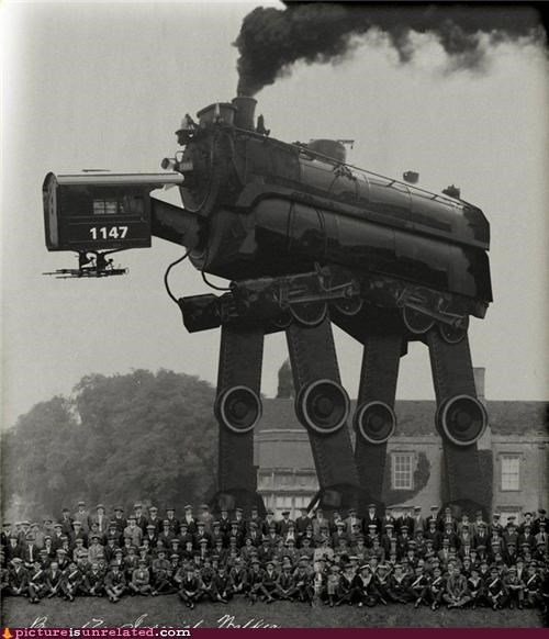 accurate at at history no photoshop star wars steam punk wtf