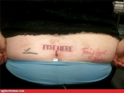 yikes gross instructions tattoos funny - 4439948800