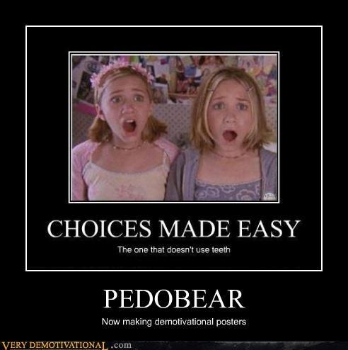 Ashely Olsen Mary Kate Olsen pedobear - 4440331264