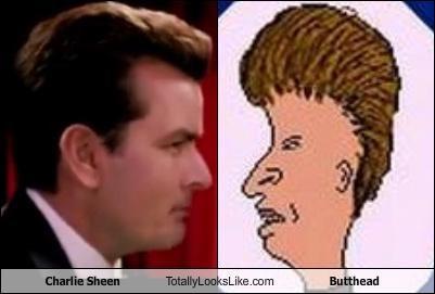 actor beavis and butthead butthead cartoons Charlie Sheen mtv - 4440535808